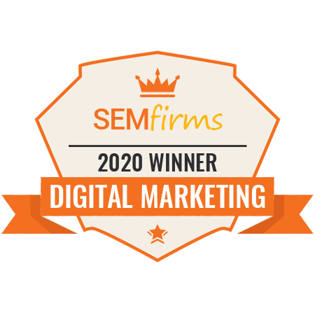 digital marketing award winner