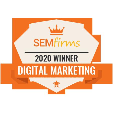 digital marketing award winner