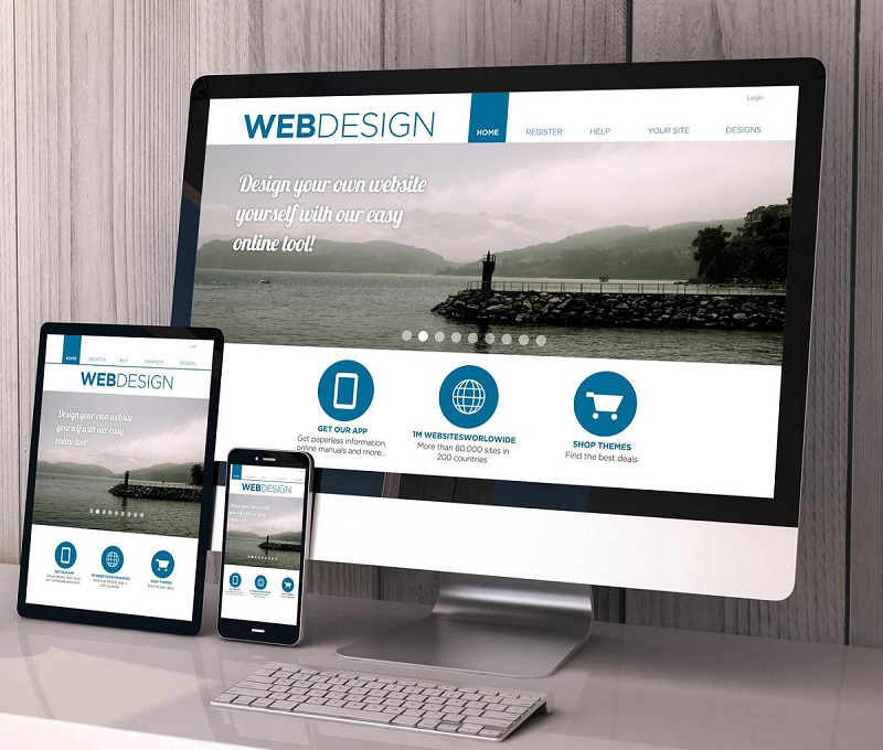 responsive websites custom design