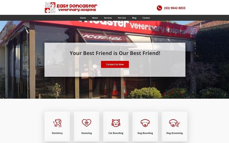 web east doncaster vet